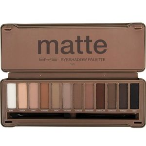 😍Matte Eyeshadow Palette ,Blender,Nude and Smoke